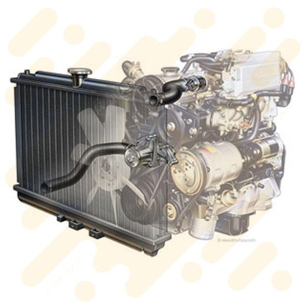 سرویس سیستم خنک کننده اتومبیل